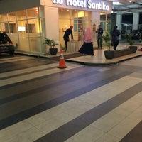 Photo taken at Hotel Santika Depok by A H. on 1/25/2017