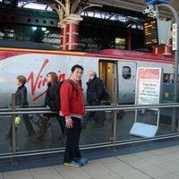 Photo taken at Platform 7 by A H. on 10/9/2012