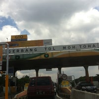 Photo taken at Gerbang Tol Moh. Toha by A H. on 2/7/2016