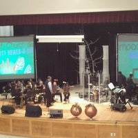 Photo taken at Impact Church [Brown Middle School] by Karen R. on 12/9/2012