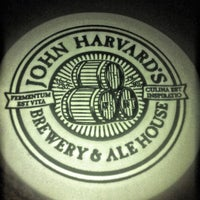 Photo taken at John Harvard's Brewery & Ale House by Lawrence W. on 4/28/2013