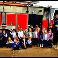 Photo taken at St. Clair Shores Central Fire Station by T M. on 10/2/2012