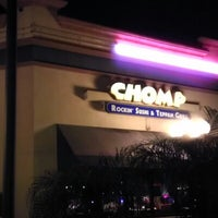 Photo taken at Chomp Sushi & Teppan Grill by Danielle M. on 12/23/2012