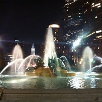 Photo taken at Swann Memorial Fountain by Jay M. on 8/22/2013