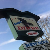 Photo taken at Eagle Diner by Jay M. on 11/23/2012