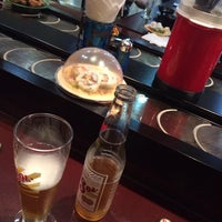 Photo taken at Happy Train Sushi Bar by Maki T. on 8/10/2014