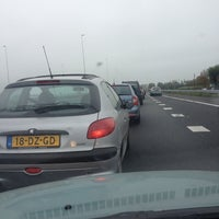 Photo taken at A12 (12, Reeuwijk) by antoinette v. on 10/21/2012