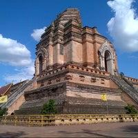 Photo taken at Wat Chedi Luang Varavihara by Song X. on 7/4/2013