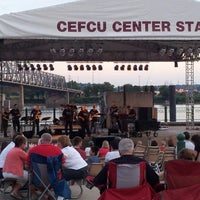 Photo taken at CEFCU Center Stage by T I. on 8/2/2013