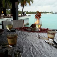 Photo taken at One & Only Reethi Rah Restaurant by Kelsey K. on 7/11/2013