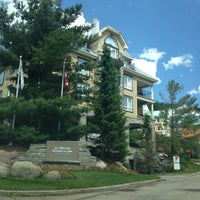 Photo taken at Le Westin Resort & Spa, Tremblant, Quebec by Nahum O. on 6/26/2014