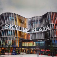 Photo taken at Skyline Plaza by Tom N. on 11/1/2013