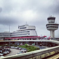 Photo taken at Berlin Tegel Otto Lilienthal Airport (TXL) by Tom N. on 5/8/2013
