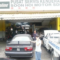 Photo taken at Soon Hoi Motor Sdn Bhd by Muhammad T. on 3/26/2013