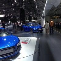 Photo taken at Audi на mmac by Ekaterina A. on 9/3/2014