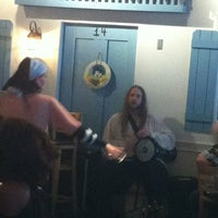Photo taken at Mykonos Taverna by Francesca A. on 9/29/2012