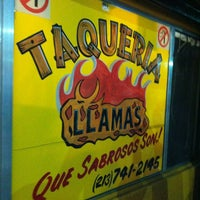 Photo taken at Taqueria Llamas by Francesca A. on 10/31/2013
