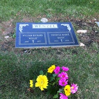 Photo taken at Holy Sepulchur Cemetery by Francesca A. on 10/19/2013