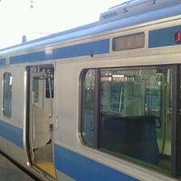 Photo taken at Platforms 9-10 by shinichiro s. on 9/28/2012