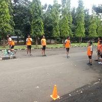 Photo taken at Istora Gelora Bung Karno (Istora Senayan) by Sokamsi A. on 2/24/2013