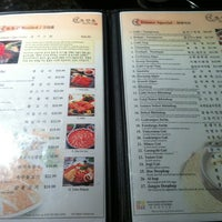 Photo taken at Cho Sun Ok by S K Y. on 3/17/2013