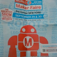 Foto tirada no(a) World Maker Faire por Tarron D G. em 9/29/2012