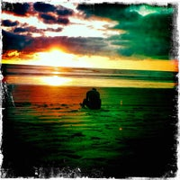 Photo taken at Playa Guiones by Rachel C. on 12/26/2012