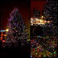 Photo taken at Rosa Parks Circle by Carey K. on 12/1/2012