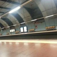 Photo taken at Metro Cabo Ruivo [VM] by Nuno M. on 5/23/2014