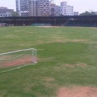 Photo taken at Lal Bahadur Shastri Stadium by Raghu V. on 6/5/2013