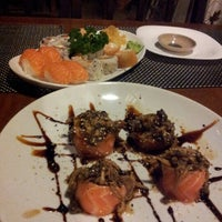 Photo taken at Monte Fuji Sushi Grill by João Paulo F. on 10/7/2012