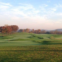 Photo taken at Oakmont Country Club by Jason T. on 10/26/2012