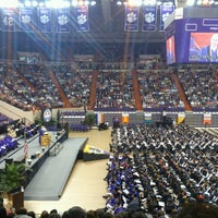 Photo taken at Littlejohn Coliseum by Kathlene H. on 5/10/2013