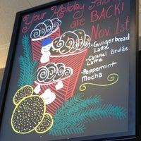 Photo taken at Starbucks by Erica M. on 10/31/2012