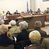 Photo taken at Eau Claire City Council Chambers by Sam M. on 10/21/2013