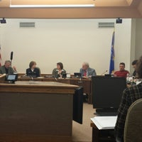 Photo taken at Eau Claire City Council Chambers by Sam M. on 1/28/2014