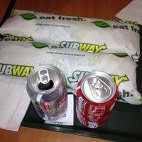 Photo taken at Subway by Macarena M. on 12/5/2012