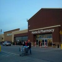 Photo taken at Walmart Supercenter by Joseph P. on 12/1/2012