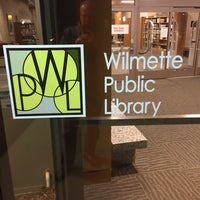 Photo taken at Wilmette Public Library by Todd S. on 12/2/2016