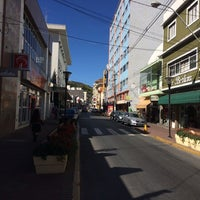 Photo taken at Rua Coronel Pedro Penteado by Clau T. on 7/1/2014