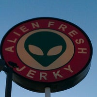 Photo taken at Alien Fresh Jerky by Jeff B. on 10/5/2012