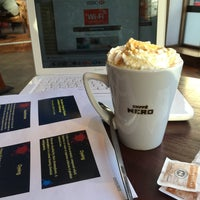 Photo taken at Caffè Nero by Closed on 3/4/2015