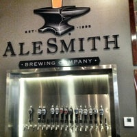Photo taken at AleSmith Brewing Company by Billy S. on 1/13/2013