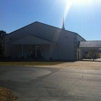 Photo taken at Falkner Baptist Church by Ben T. on 11/18/2012