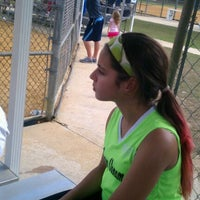 Photo taken at Oscar Cooler Softball Complex by Karianne M. on 1/12/2013