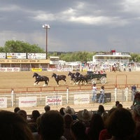 Photo taken at Prescott Rodeo Grounds by Kip on 7/6/2013