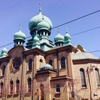 Photo taken at St. Theodosius by Patrick S. on 4/18/2014