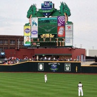 Photo taken at Fifth Third Field by Patrick S. on 7/20/2013