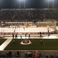 Photo taken at Hersheypark Stadium by Jesse U. on 1/20/2013