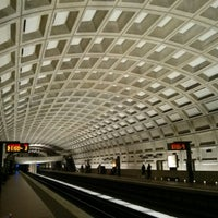 Photo taken at Smithsonian Metro Station by Jennifer P. on 1/20/2013